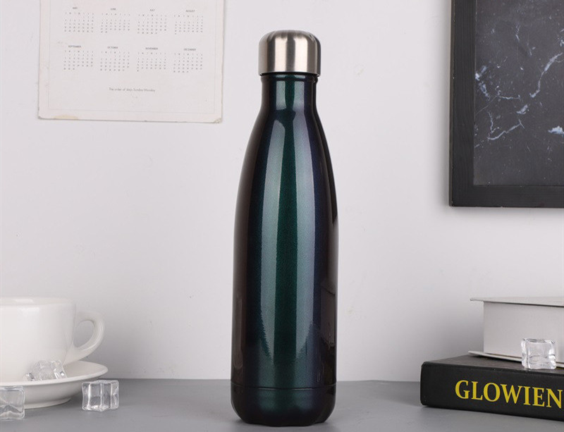 Different Size Cola Water Bottle Double Wall Stainless Steel Cola Water Bottle Cup