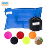 Hot Sale Outdoor Inflatable folding camping Self- inflatable air pillow