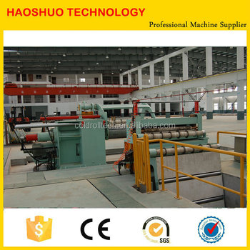 Fast Changing Steel Twin Slitter Slitting Line, High Configuration Metal Slitting Machine