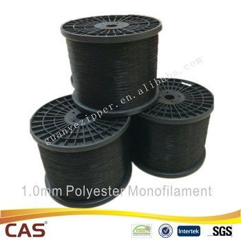 0.48mm-1.05mm for Black Nylon Teeth PET Monofilament