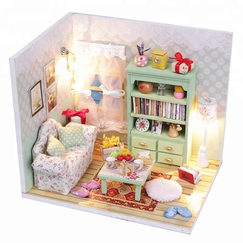 Sport Fitness Miniature Dollhouse Furniture Kit Toys Mini Furniture