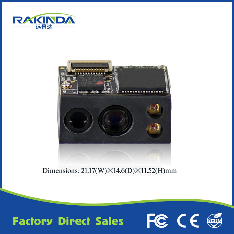 LV3096 TTL232 Interface 4mA Standby Current 2D Arduino Barcode Scanner Module For Tablet PC