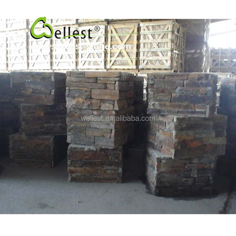 Exterieur gevel culturele muur cadding leisteen hoek leisteen product id 60497093342 dutch - Leisteen muur ...