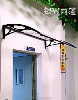 Promotion Plastic Canopy Clear Awning For Window And Door Canopy Design