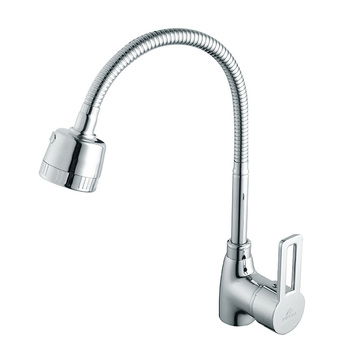 PDera Single Handle Single Holel Water Spray Kitchen Faucet