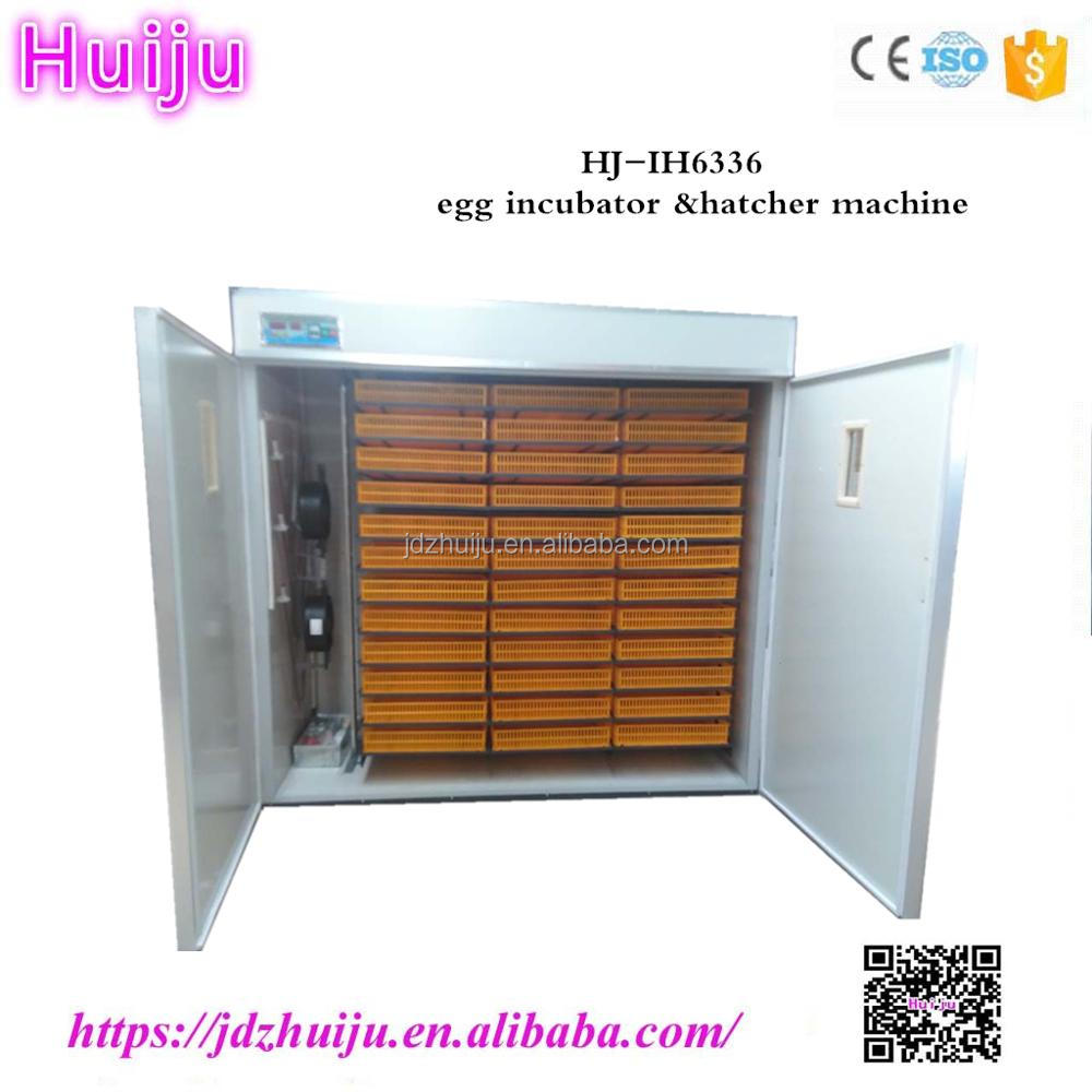 Promotion price 6000 chicken egg incubator with hatcher for sale HJ-IH6336