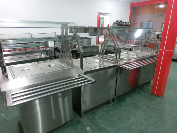 Commercial counter top bain marie/restaurant equipment