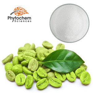 best selling plant extract 98% chlorogenic acid from green coffee bean