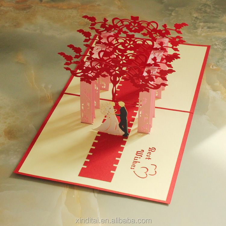 Wedding Invitation Card 3D | purplemoon.co