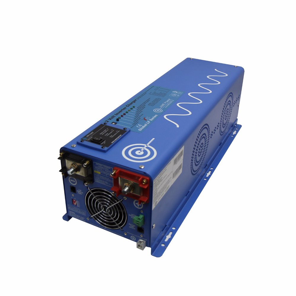 Aims Power 4000 Watt Pure Sine Inverter Charger 12VDC to120/240 VAC 50 OR 60HZ