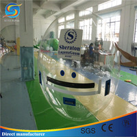 Buy giant glass bubble ball walk water for sale in China on ...