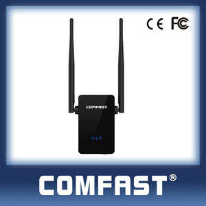 Best Price COMFAST CF-WR302S 300mbps Portable WiFi Long Range Lan Extender with 2Dbi Double Antennas