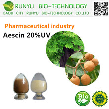 Pharmaceutical industry horse chestnut extract in herbal extract 20%UV escin