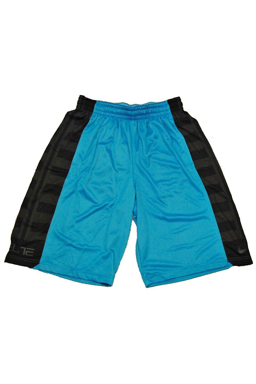 Get Quotations · Nike Men s Elite Fanatical Dri-FIT Basketball Shorts (Small)  (Blue Black be99f4e26