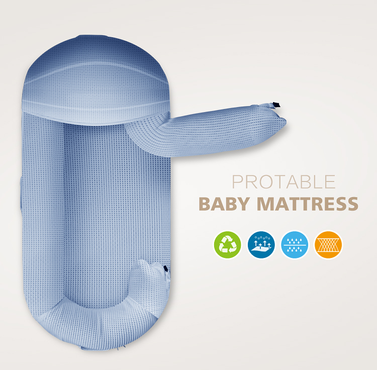 Natural fabric soft and portable newborn breathable bed baby nest