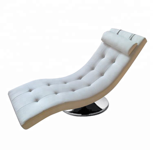 Popular Modern Swivel Lounge Relax PU Leather Sleeper Chair
