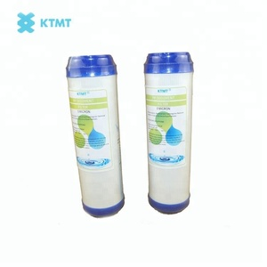 Granular UDF activated carbon water filter cartridge for reverse osmosis system