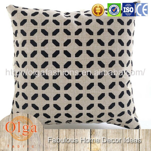 reversible diamond design throw pillow case