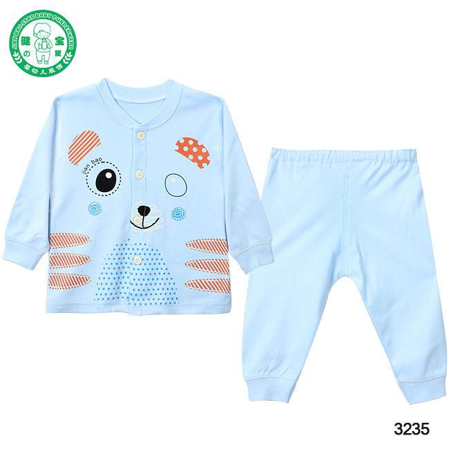 3235 100 Cotton Lovely Baby Wear Custom Design Baby Long Sleeve