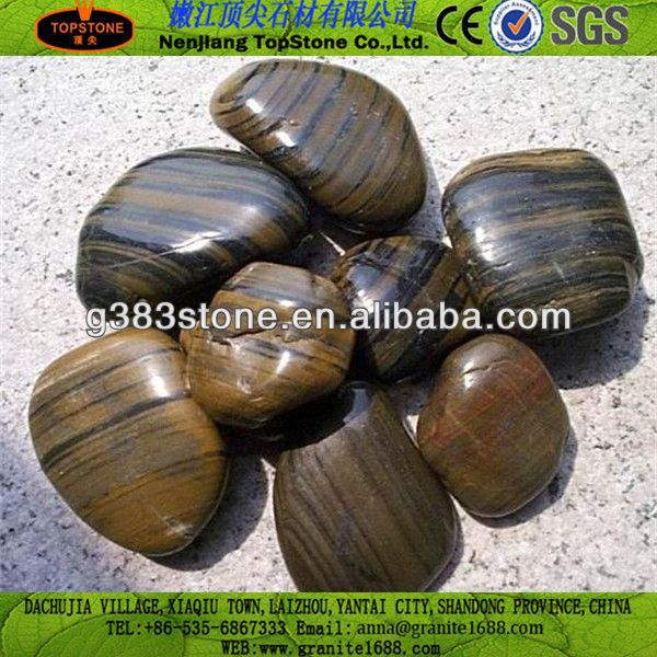 mexican beach Natural Polished Pebble Stone from China(Hot Sale)s