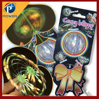 Magic Hippie Stick Foil Spinning Kid Toy