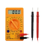 Measuring DC & AC voltage DT830B Pocket multimeter Digital Multimeter