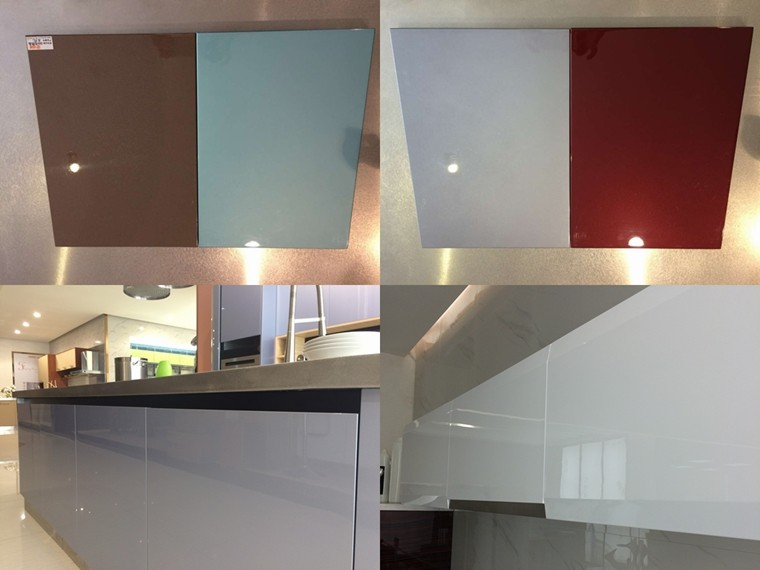 New Design High Gloss Fiber Kitchen Cabinet For Sale With Kitchen ...