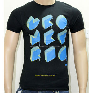PRINTED T-SHIRT: 160GSM MEN'S SINGLE JERSEY PRINTED T-SHIRT