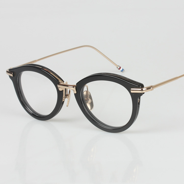 eyewear brands k5xa  2016 fashion round cycling eyeglasses japanese eyewear american brands  metal new model optical frame