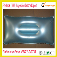 Factory sale U- shape inflatable beach pillow for travel
