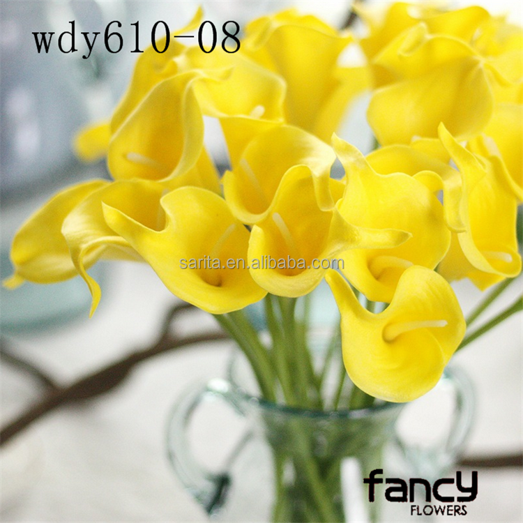 Real Touch pu Calla Lily flores China flores artificiales