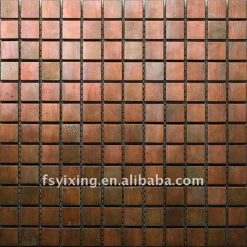 Copper Mosaic Floor Tileswall Tiles For House Designmetal Mosaic