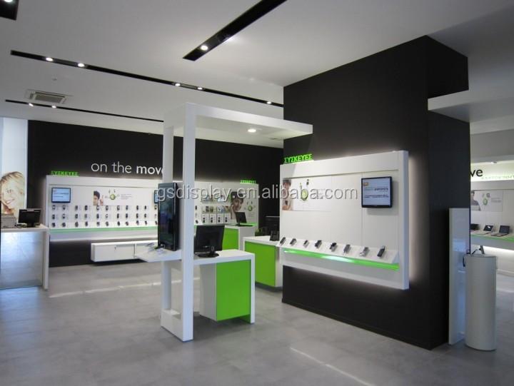 Chain Store Electronics Showroom Mobile Phone Shop Interior Design ...