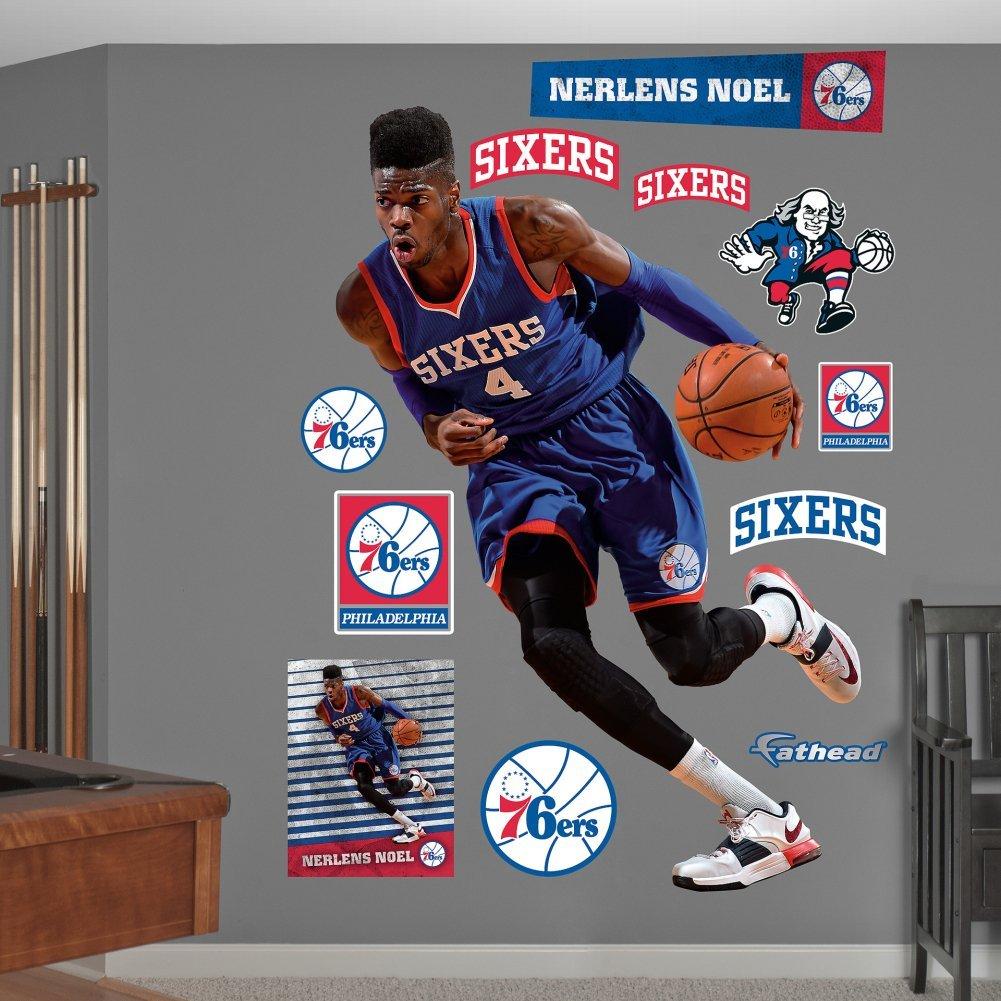 Fathead NBA Philadelphia 76ers Nerlens Noel Wall Decal