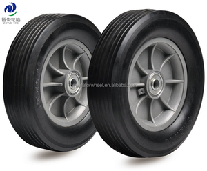 solid rubber wheels 10x2.75 for golf push cart, generator, wheelbarrow