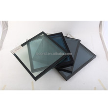 excellent quality tempered reflective glass, china supplier hot sale black reflective glass