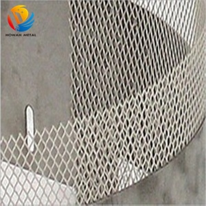 Platinized titanium anode mesh for electrolysis