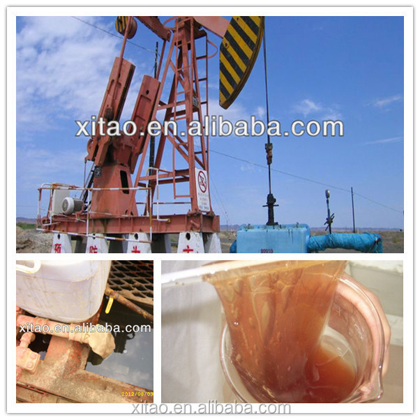 Oilfield acidizing process polyacrylamide thickening agent
