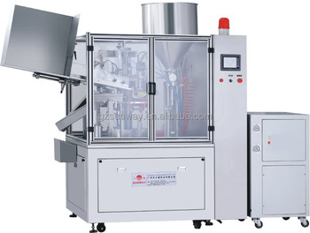 Hot Plastic Tube Filling and Sealing Machine for Cosmetic Toothpaste Cream Lotion