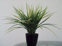 Cheap artificial potted plant , grass arrangement