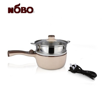 Hottest Multi-function Cooker 304 Stainless Steel Non-stick Electric Frying Pan with Ceramic Coating