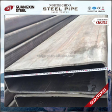 Mild Steel Sharp Angle Rectangular Pipes