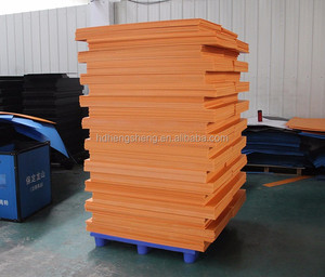 Fluted polypropylene Correx corrugated plastic sheet 4x8