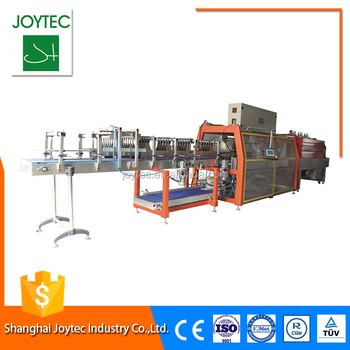 Customize Automatic Yoghurt Cup Shrink Wrapping Machine biscuit pouch filling equipment