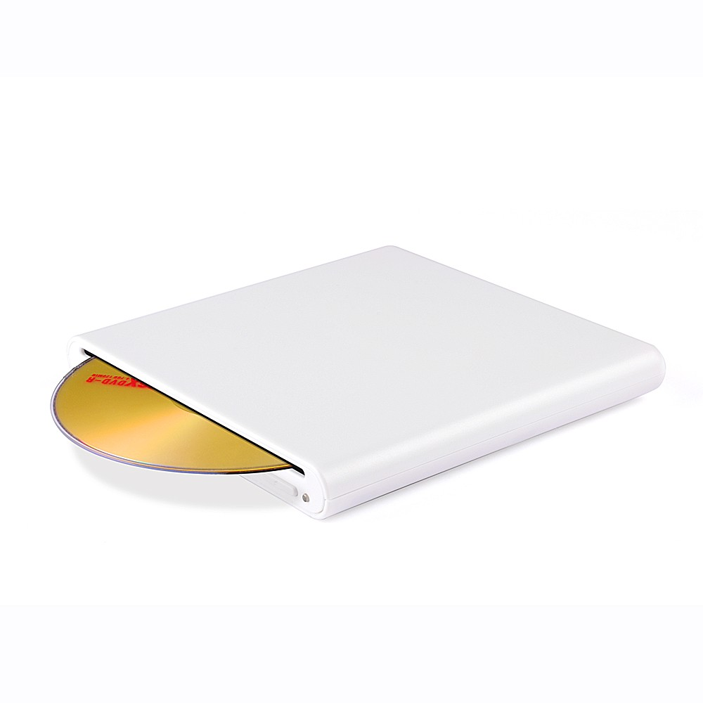 Wholesale Slim slot loading Burner External USB 2.0 DVD Writer CD Drive for laptop
