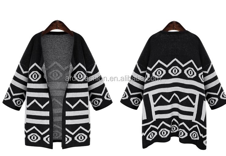 2016 Best Selling Aztec Knitting Pattern Women Cardigan Buy Women