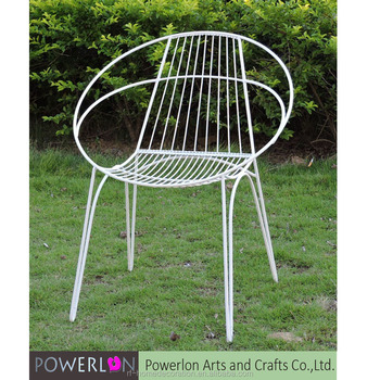 Unique Simple Design Round Hollow Wrought Iron Chair Buy