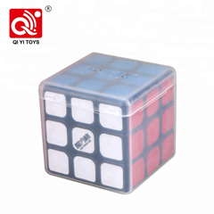 Qiyi supply professional different color plastic cube valk for sale