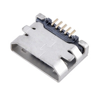 Supply Mini USB Connector Micro USB 5P B Type SMD Female Connector SMT