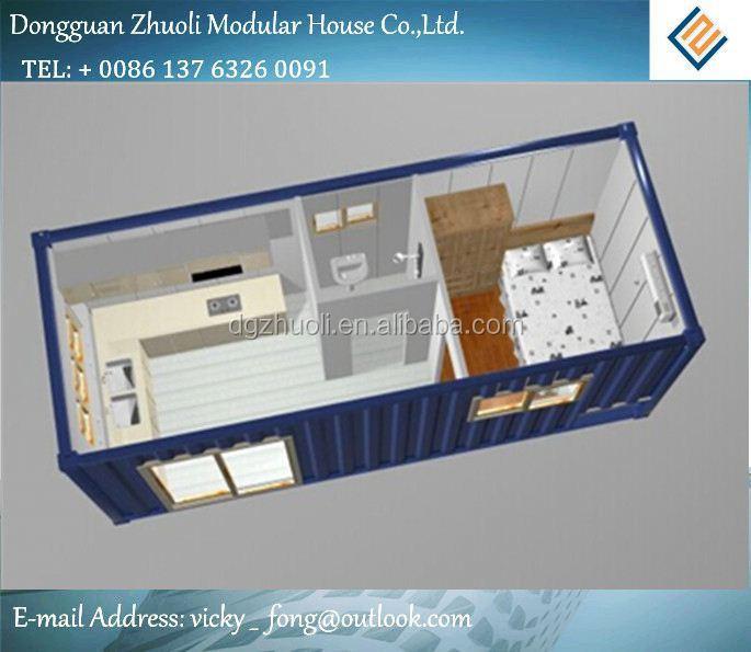Modular casa prefabricada kit precio bajo costo kit - Casas prefabricadas low cost ...